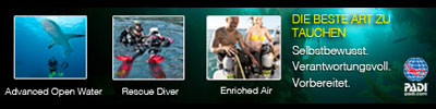 PADI - The Way the World Learns to Dive®