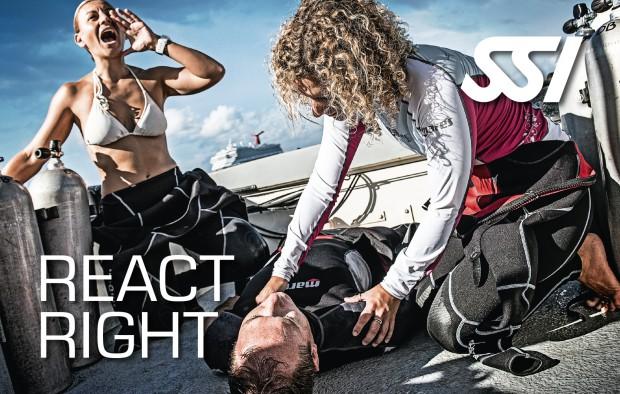 REACT RIGHT - Erste Hilfe für Taucher @ Tauchschule ScubaBoard Linz | Linz | Oberösterreich | Österreich